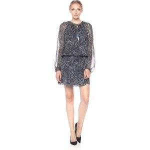 NWOT Ramy Brook Tanzania Silk Blouson Dress
